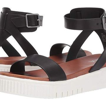 MIA Lunna (Black) Women's Sandals
