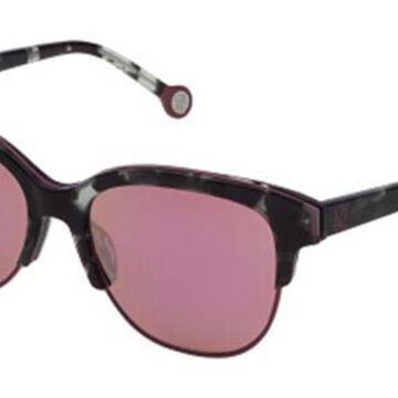 Carolina Herrera SHE751 96NR Men's Sunglasses Tortoise Size 54