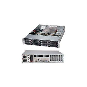 Supermicro Barebone Case CSE-826BA-R920LPB 2U 12x3.5inch Hot-Swap SAS/SATA 80PLUS Platinum 920W RPS EATX Black Retail