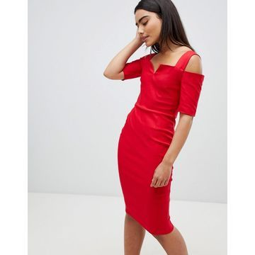 Vesper cold shoulder midi dress