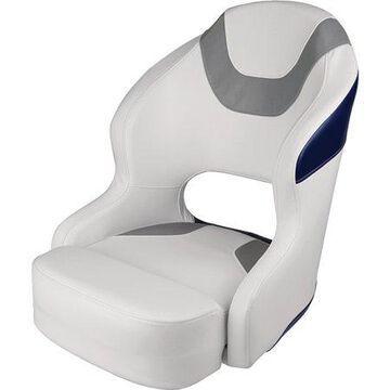 Wise 3314-1773 Baja Bucket Seat, White/Grey/Navy