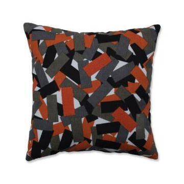 "Pillow Perfect Halloween Tabs Throw Pillow, 18"" L x 18"" W"