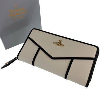 Vivienne Westwood White Leather Wallets