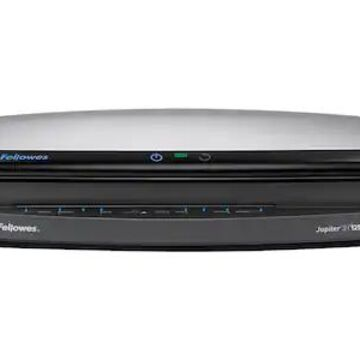 Fellowes Jupiter 2 125 Thermal & Cold Laminator, 12.5 Width, Black/Silver (5734101) | Quill