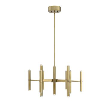 Savoy House Barnum 26 Inch 18 Light LED Chandelier Barnum - 1-2600-18-322 - Modern Contemporary