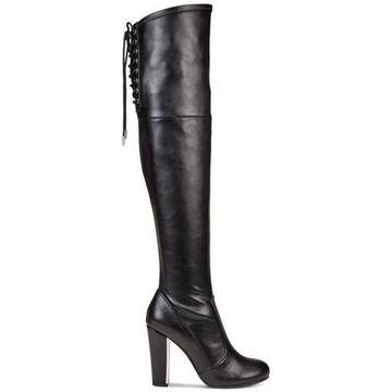 Material Girl Womens MPRIYANKAP Closed Toe Knee High Fashion