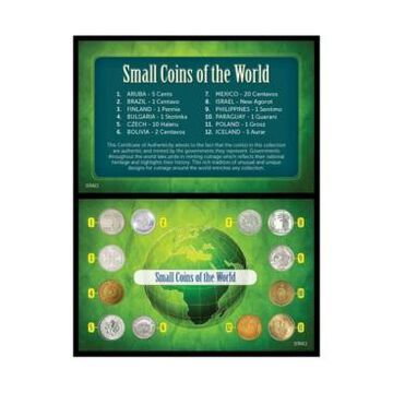 American Coin Treasures Small Coins of The World