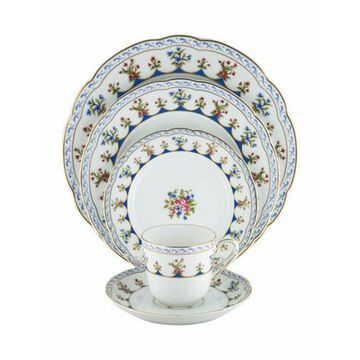 5-Piece Chateaubriand Dinner Service white