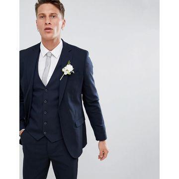New Look skinny fit suit jacket in navy