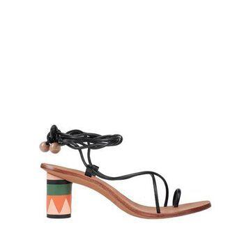 ULLA JOHNSON Toe strap sandals