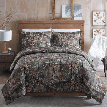 Realtree Edge Queen Comforter Set Red