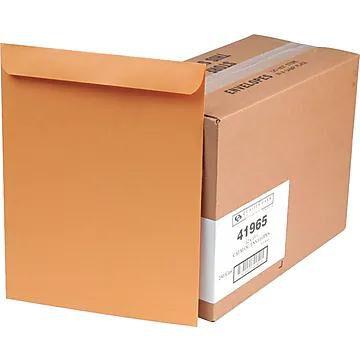 """Quality Park Gummed Catalog Envelope, 12"""" x 15 1/2"""", Light Kraft, 250/Box (41965)"""