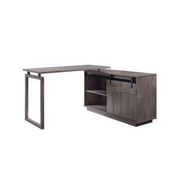 Acme Furniture Bellarosa Desk with Cabinet