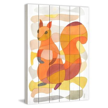 Marmont Hill Squirrel Wall Art