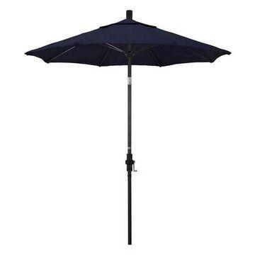 California Umbrella 7.5' Round Fiberglass Rib & Aluminium Umbrella, Po