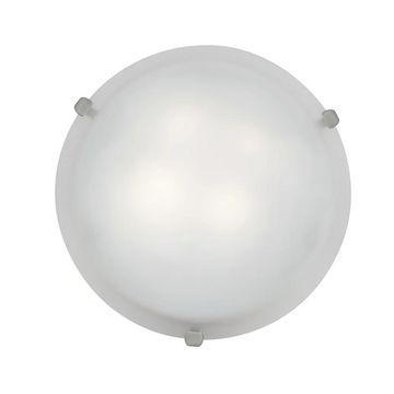 Access Mona 2-light Brushed Steel Energy Efficient 12-inch Flush Mount