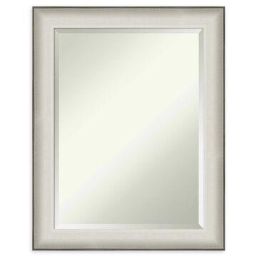 Amanti Art Allure Wall Mirror in White