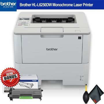 Brother Monochrome Laser Printer Extra Toner Bundle