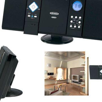 Jensen Wall Mountable Vertical Loading CD Player with Stereo Speakers JEN-JMC...