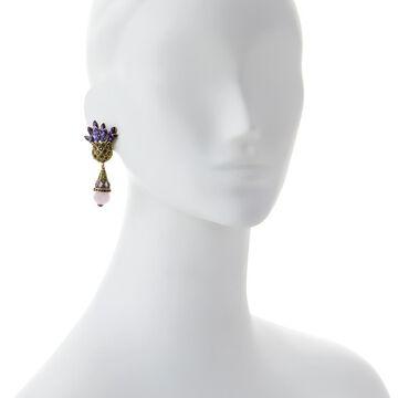 Heidi Daus Expression of Love Crystal Drop Earrings