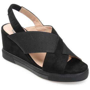 Brinley Co. Womens Sling-Back Wedge Sandal
