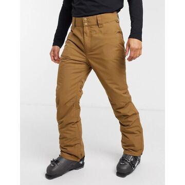 Billabong Outsider ski pant in brown