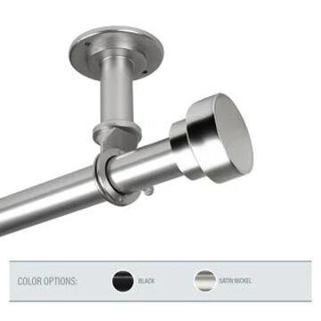 InStyleDesign Beret 1 inch Diameter Ceiling Curtain Rod/ Room Divider