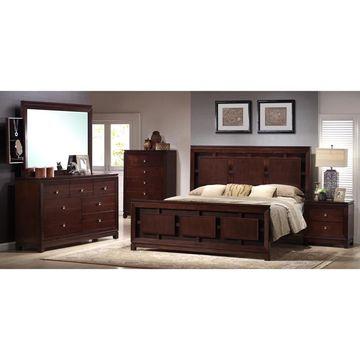 Picket House Furnishings Easton Panel 5PC Bedroom Set
