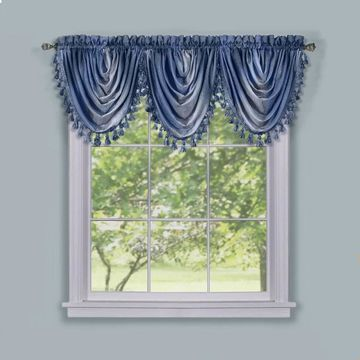 Achim ACHIM Ombre Waterfall Windown Curctain Valance