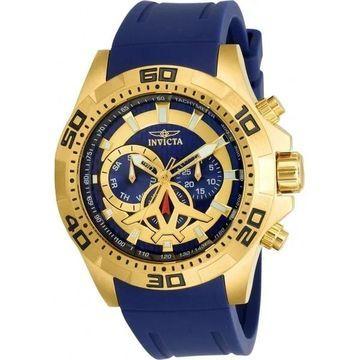 Invicta Men's 21737 'Aviator' Blue Polyurethane Watch