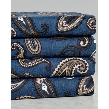 Superior Flannel Paisley Sheet Set