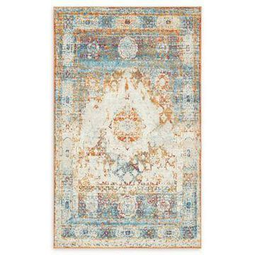 Unique Loom Bellini Venice 5' x 8' Powerloomed Area Rug in Beige