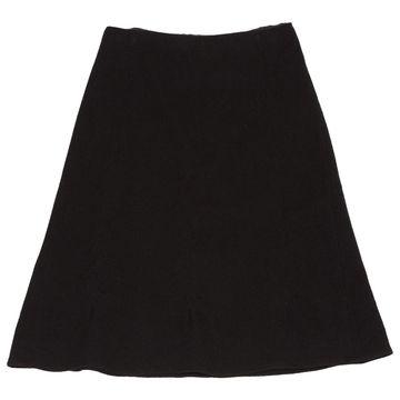 Jil Sander Black Wool Skirts
