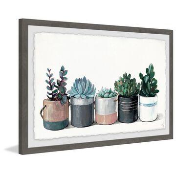Marmont Hill - Handmade Mixed Family Framed Print