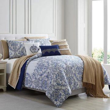 Amrapur Overseas Arabseque 10-Piece Comforter and Coverlet Set