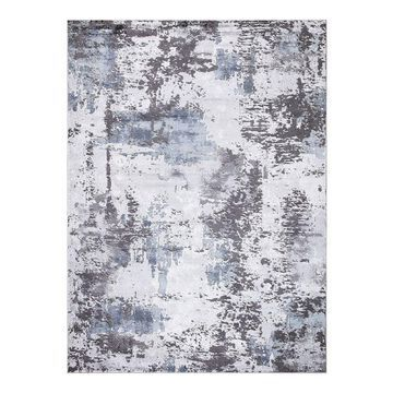 Concord Global Brighton Pacific Abstract Area Rug, Grey, 3X5 Ft