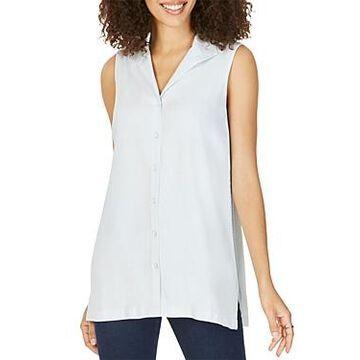 Foxcroft Arquette Sleeveless Tunic Shirt