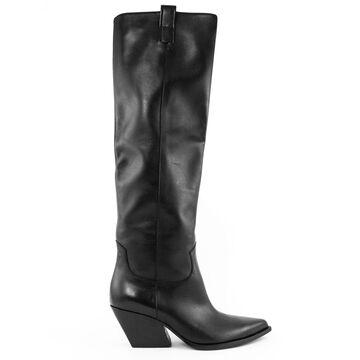 Elena Iachi High Boot In Black Leather