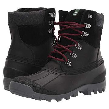 Kamik Hudson 5 (Black) Men's Cold Weather Boots