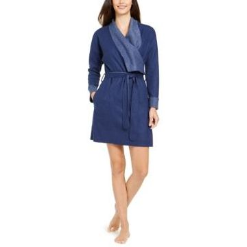 Alfani Super Soft Wrap Robe, Created For Macy's