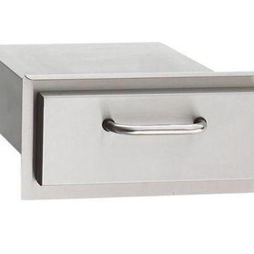 Single Storage Drawer - Stainless Steel