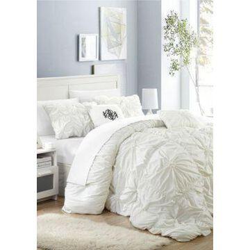 Chic Home Halpert Comforter Set - White - -