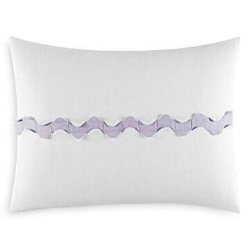 Vera Wang Center Scallop Decorative Pillow, 12 x 16