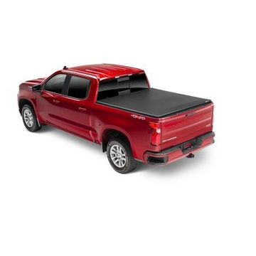 Extang 92457 Trifecta 2.0 Tonneau Cover; Black; Leather Grained Fabric;