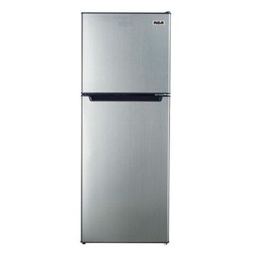RCA 7.2 Cu. Ft. Top Freezer Refrigerator in Platinum