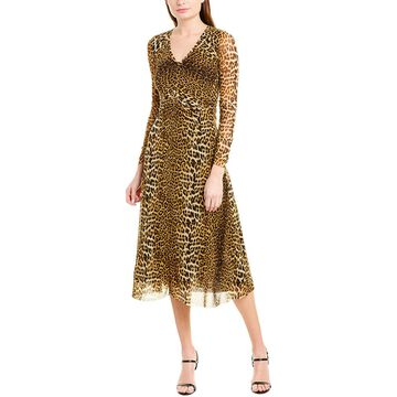 Fuzzi Womens Sheath Dress