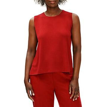 Eileen Fisher Sleeveless Wool Shell Top