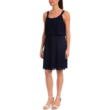 NY Collection Womens Party Sleeveless Cocktail Dress