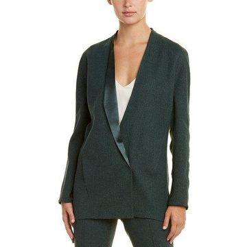Akris Womens Linen-Blend & Silk-Lined Jacket