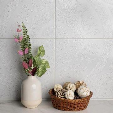 SomerTile 12.5x12.5-inch Casablanca Gris Ceramic Floor and Wall Tile (10 tiles/11.29 sqft.)